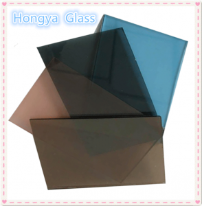 5mm tinted tempered laminated glass