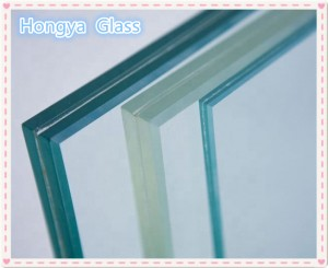 6.38mm 8.38mm10.38mm tempered laminated glass price for architectural building