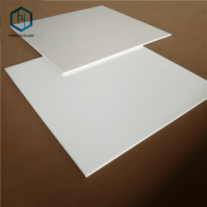 4mm 5mm white ceramic glass plate for induction cooker top