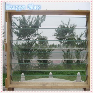 Clear or transparent window louvre glass manufacturer price