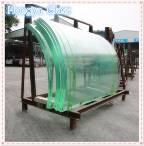 Commercial Building Glass SGP Interlayer 12+12 Safety Tempered Laminated Glass