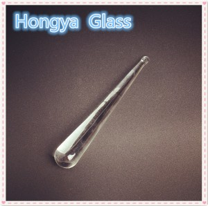 Custom OEM 30mm Transparent Chandelier Crystal Borosilicate Glass Rod