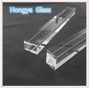 Customized square borosilicate glass rod in various size