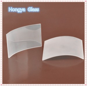 high quality frosted quartz plate