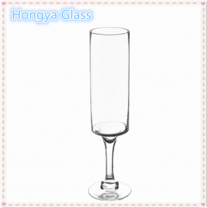 Handmade and Weddings Use long-stemmed glass candle holder
