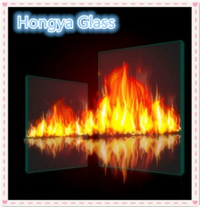 Hot sale tempered 2 hour fireproof glass doors price