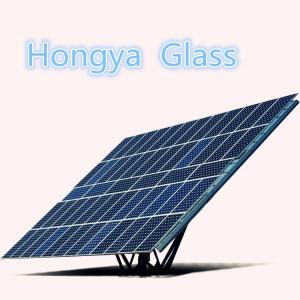 2-6mmHot sale transparent photovoltaic solar panels glass price