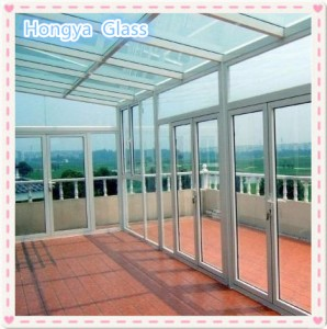 Laminated glass roof glass price