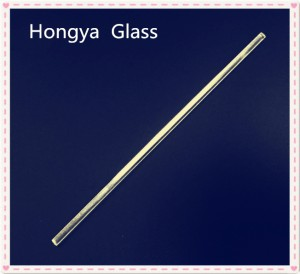 Quartz glass solid cylinder rod