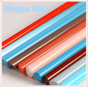 Colorful Customized Borosilicate Glass Rod/Glass Tube