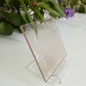 4mm transparent heat-resistant glass ceramic glass used as fireplace doors glass
