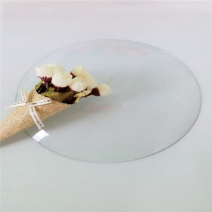 Tempered glass/ultra clear thin glass for clock face and cover