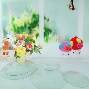 ROUND CONVEX CLOCK GLASS, Silk Screen Printing Glass Clock Glass Face