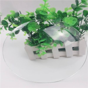 1.8mm / 2mm Clock Glass / Clock Cover /Tempered and Bending Sheet Glass