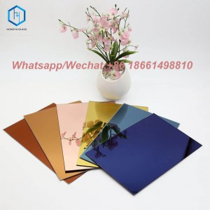 Frameless coating glass customized size high reflective aluminum mirror sheet