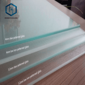 3.2mm 4mm Low iron Tempered Solar Glass for solar panels