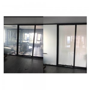 Electric Control Switchable Smart Pdlc Film Privacy for office partition