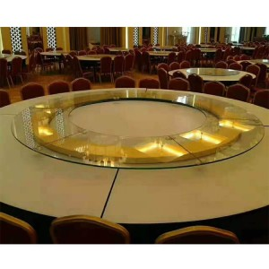12mm thick toughened glass rotating round tempered glass dining table oval glass table top