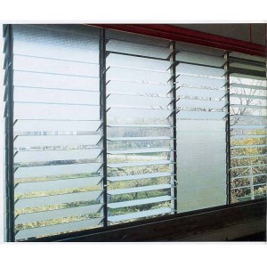 4mm 6mm factory price glass shutter jalousie window louver glass