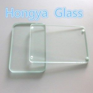 Borosilicate glass for pressure resistant glass / high temperature sight glass