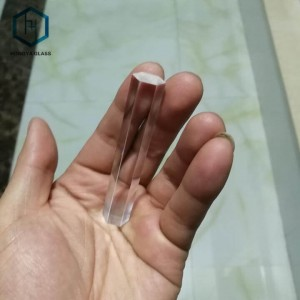 Custom-Made Optical Glass UV Light Guide Hexagonal Prism