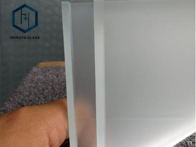 4mm 5mm 6mm frosted glass panel translucent frosted tempered glass