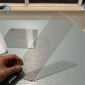 Glass for Autocue/ teleprompter spectroscope glass only 10+ years experience factory