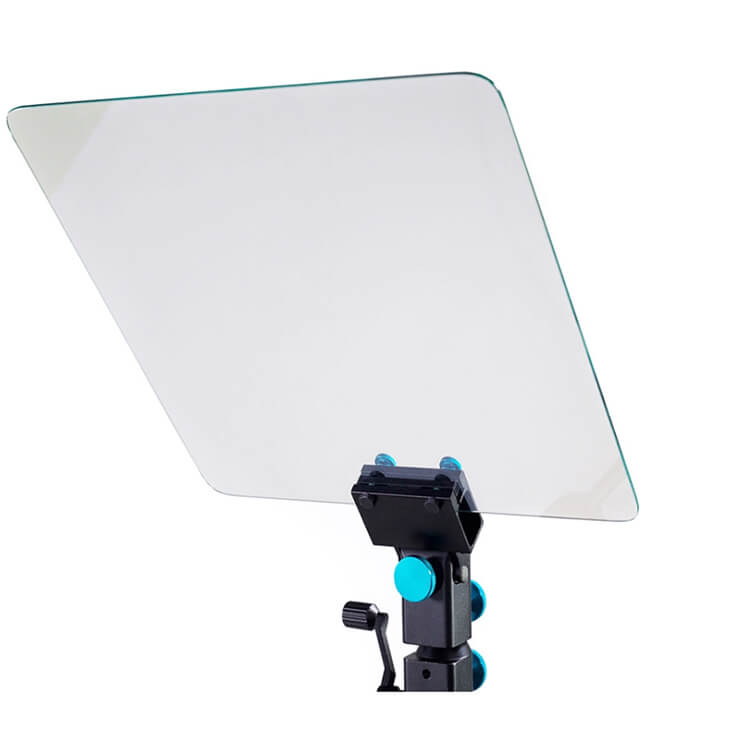 Teleprompter glass