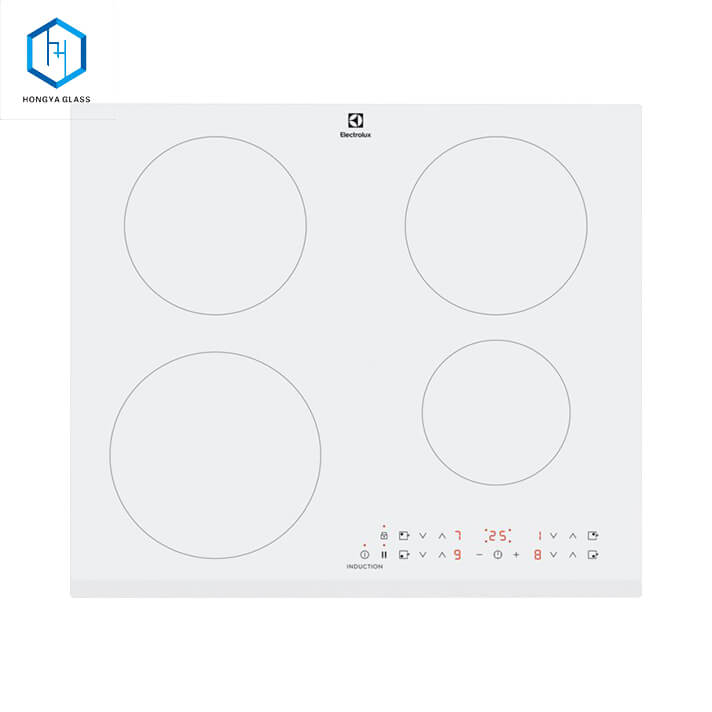 Heat Resistant Black Ceramic Glass Plate for Induction Cooking Featured Image
