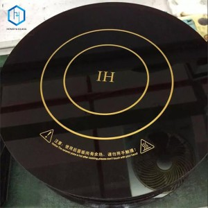 high temperature resistant glass ceramic glass
