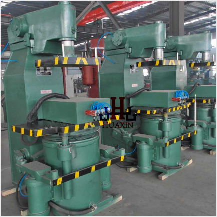 Semi-Automatic Green Sand Molding Machine