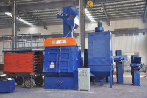 Q32 Series Apron Belt Type Shot Blasting Machine