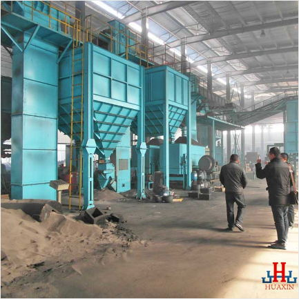 China Green Sand Production Line Supplier