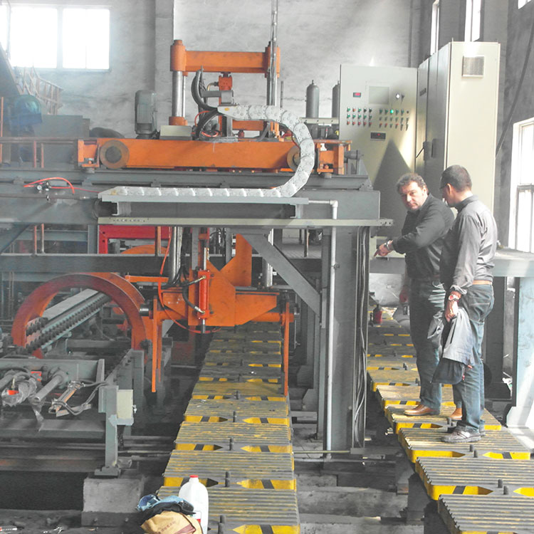Russian customers visited foundry machinery supplier