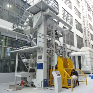 QBC02 Continuous Drum Shot Blasting Machine