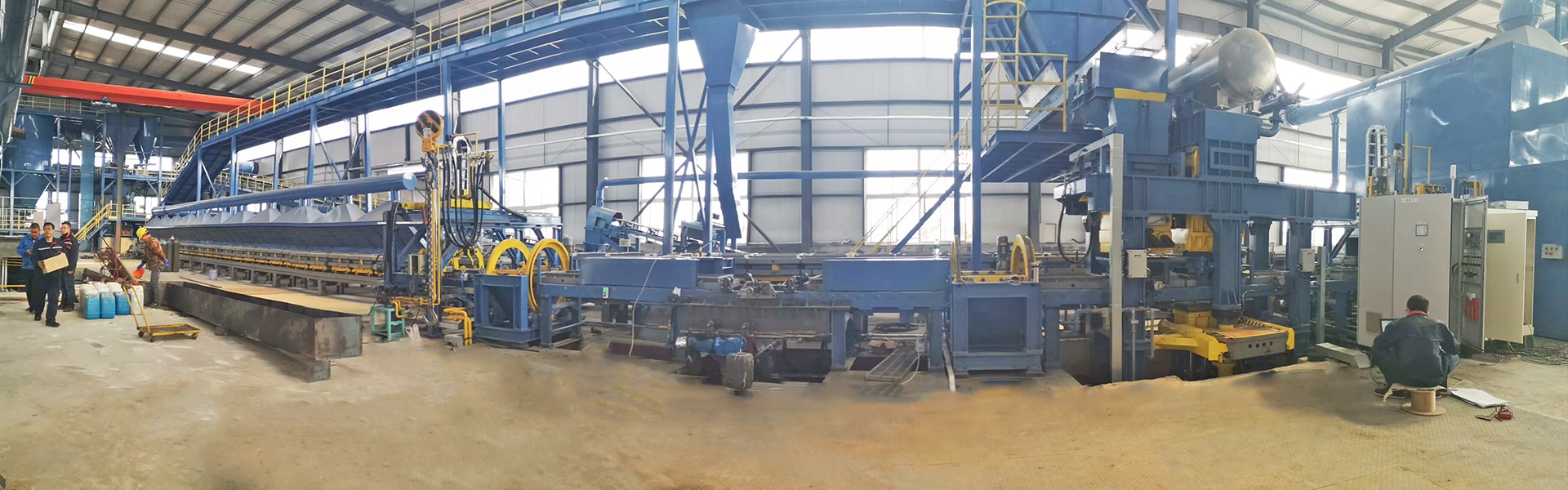 Statoc high pressure molding line