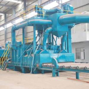 Section steel Cleaning Shot Blasting Machine