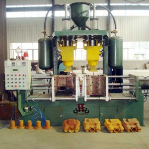 China Vertical Parting Sand Core Shooter Machine