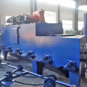 Roller Type Shot Blasting Machine