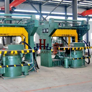 Machine Multi-Contact Green Sand Moulding