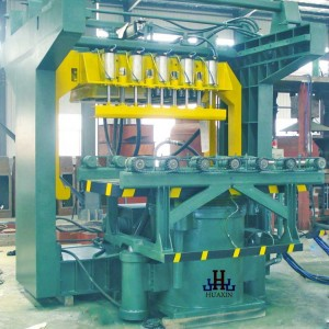 Multi-Contacts Compaction Sand Moulding Machine
