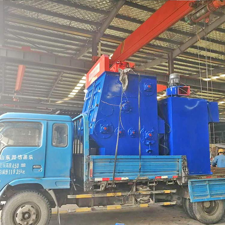 Q3210 Tumbling shot blasting machine -Deliver goods