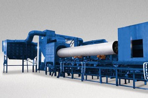 Steel Tube And Pipe Inner Wall Shot Blasting Machine