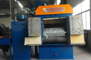 Wholesale ODM Coiled Wire Shot Blasting Machine -
