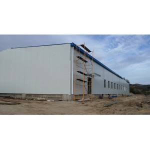 Steel structure warehouse/workshop from China