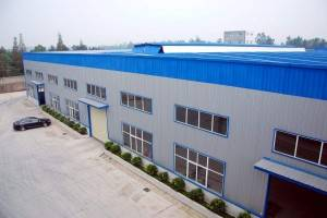 Prefabricated steel structure workshop for factory