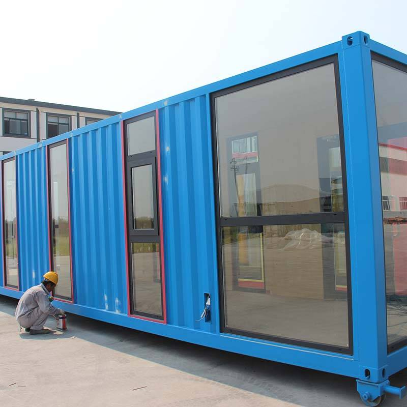 Transport casa container