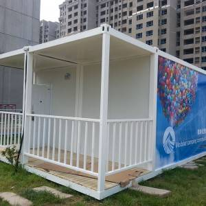 Prefabricated Container House for Dormitory and Coffee Shop