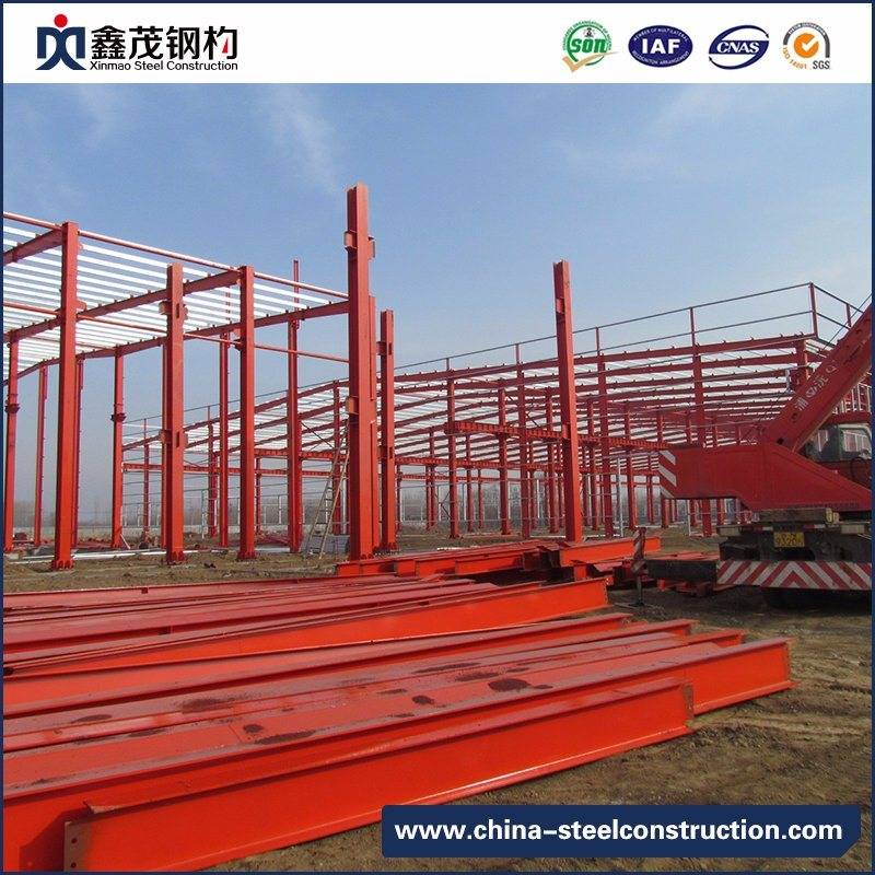 2017 Hot-Selling Industrial Steel Structure Prefabricated Building Price