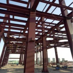 Steel Structure Frame with ISO Certification
